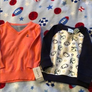 12 month boys sweaters NWT